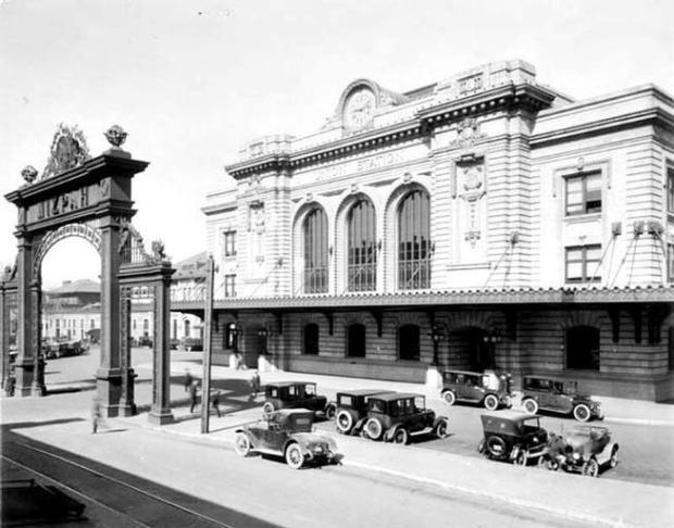 Union Station establecida en 1881.