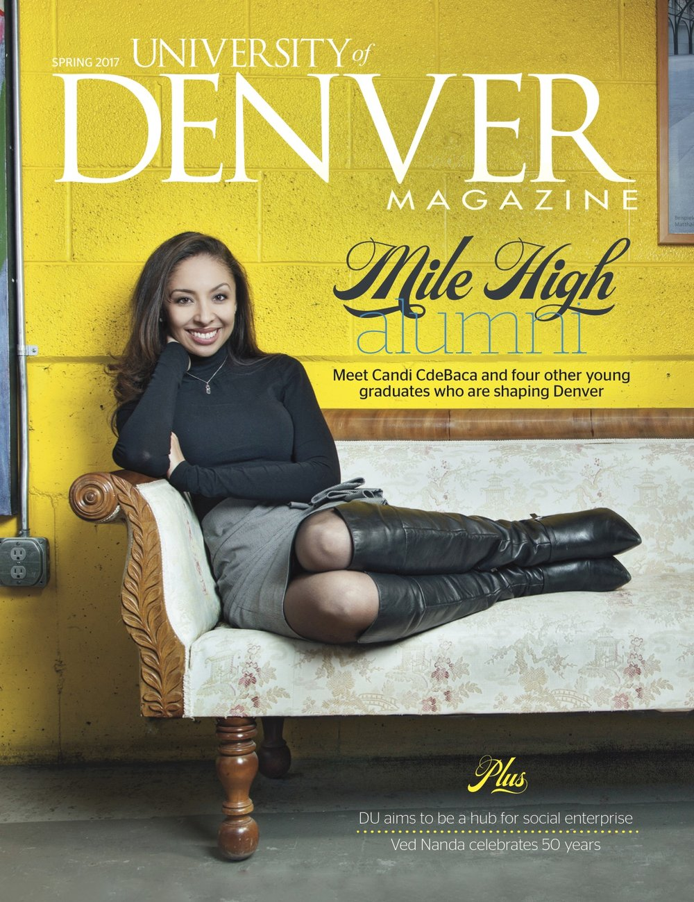 Alumnos que dan forma a Denver: Candi CdeBaca, Proyecto VOYCE - Denver se ha convertido en uno de los últimos años, ganando una reputación como un semillero para la tecnología, las artes, los restaurantes, la cerveza artesanal, el espíritu empresarial y una población milenaria comprometida.Así como DU ha ayudado a dar forma a Denver en los últimos 150 años, la Universidad tiene una gran influencia en la última encarnación de la ciudad. Aquí hay cinco alumnos que ayudan a impulsar la ciudad social, económica y culturalmente.