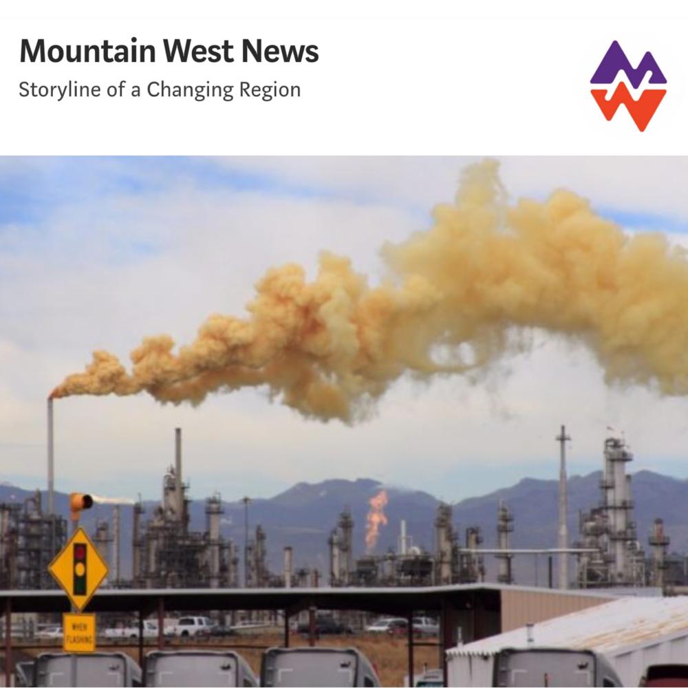 Refinería del norte de Denver arroja toneladas de gas cianuro - Según los registros estatales, la refinería de petróleo de Suncor Energy está arrojando 8.5 toneladas al año de gas de cianuro de hidrógeno invisible en los vecindarios de bajos ingresos del norte de Denver. El nivel de emisión se reveló cuando la empresa intentó utilizar un vacío legal para evitar la divulgación.