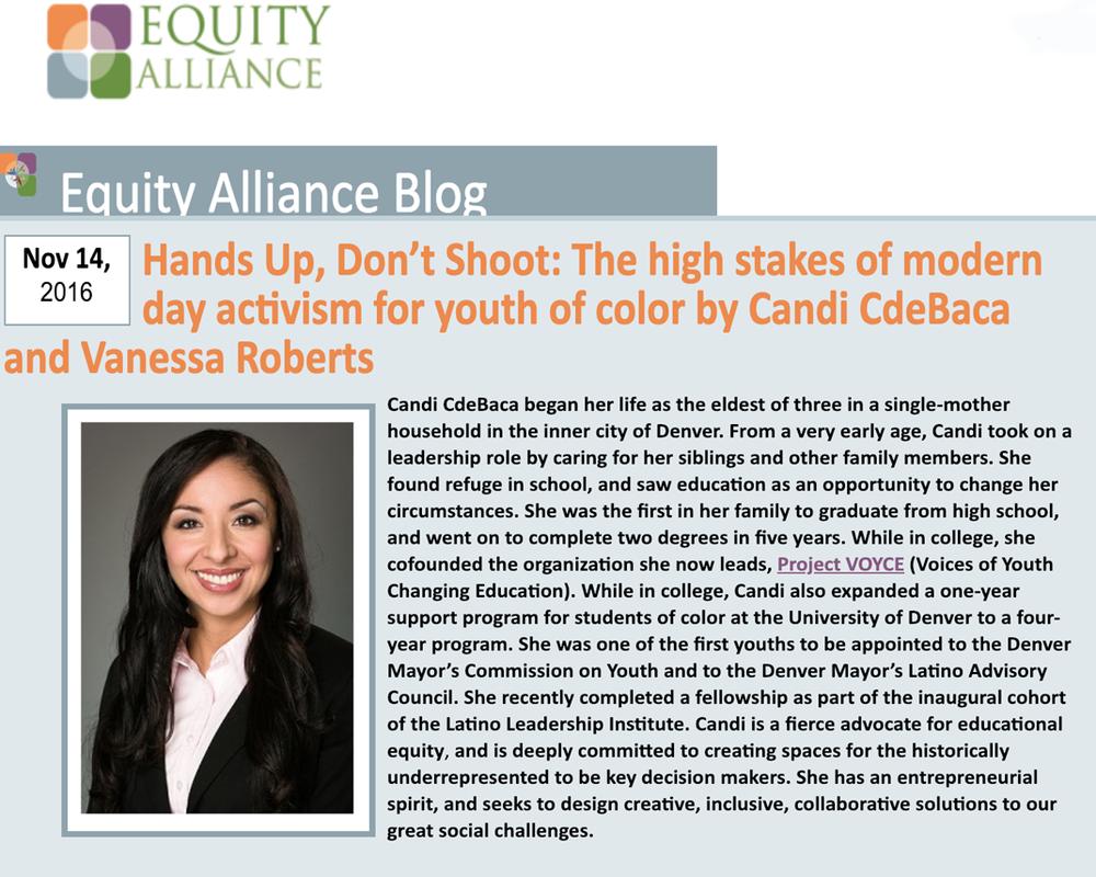 Manos arriba, no disparen: las altas apuestas del activismo moderno para los jóvenes de color -