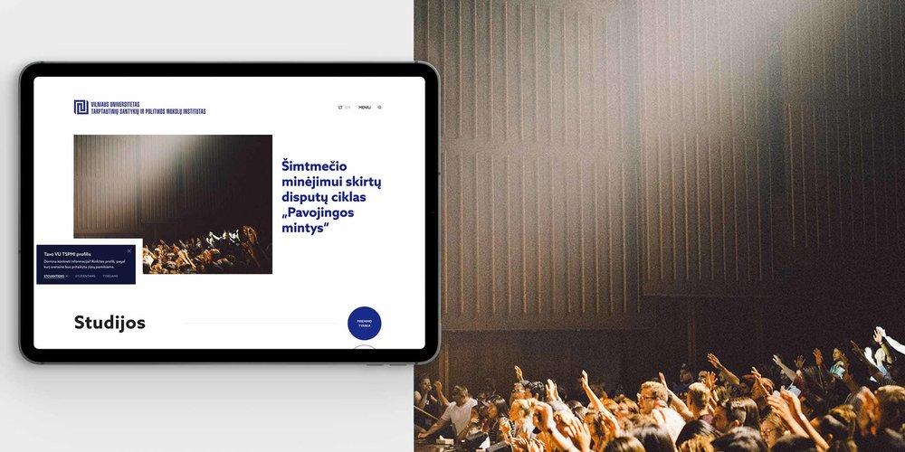 Rethinking University's website