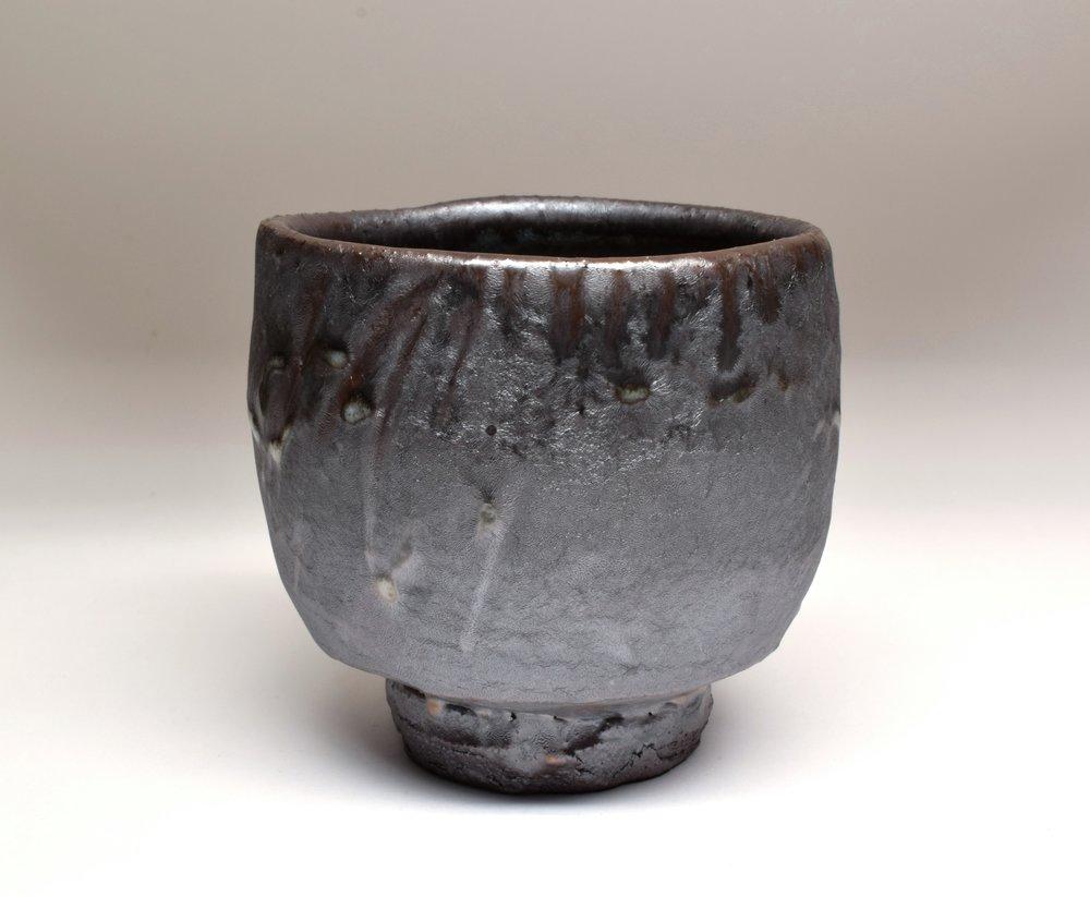 Salt glazed wood-fired stoneware    Photo credit:  Courtesy of the artist