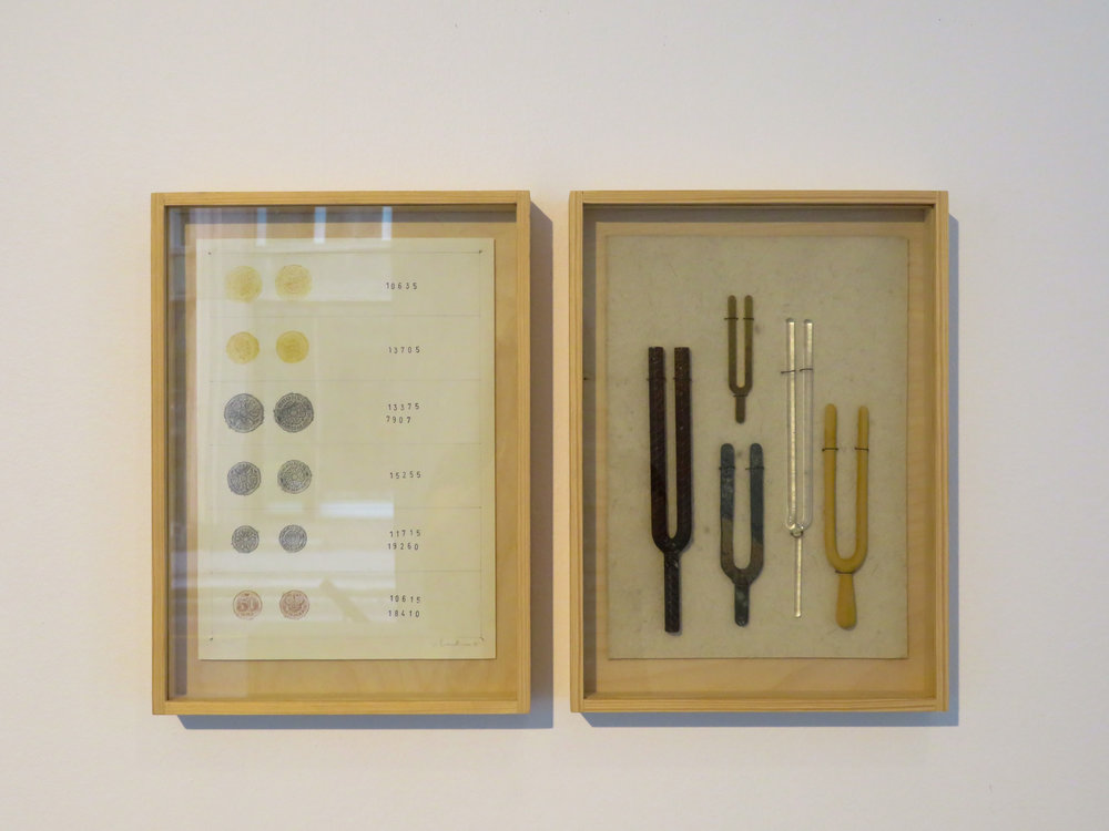 Framed Research (coins)    Framed Research (forks)   Photo credit: Courtesy of Galleri Format Oslo