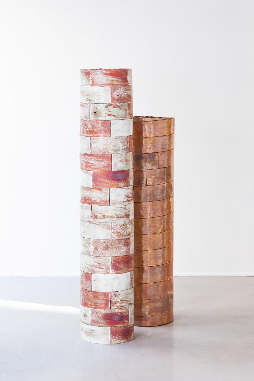 Bricks #01 , 2019 |  Bricks #02 , 2019  Photo credit: Courtesy of the artist