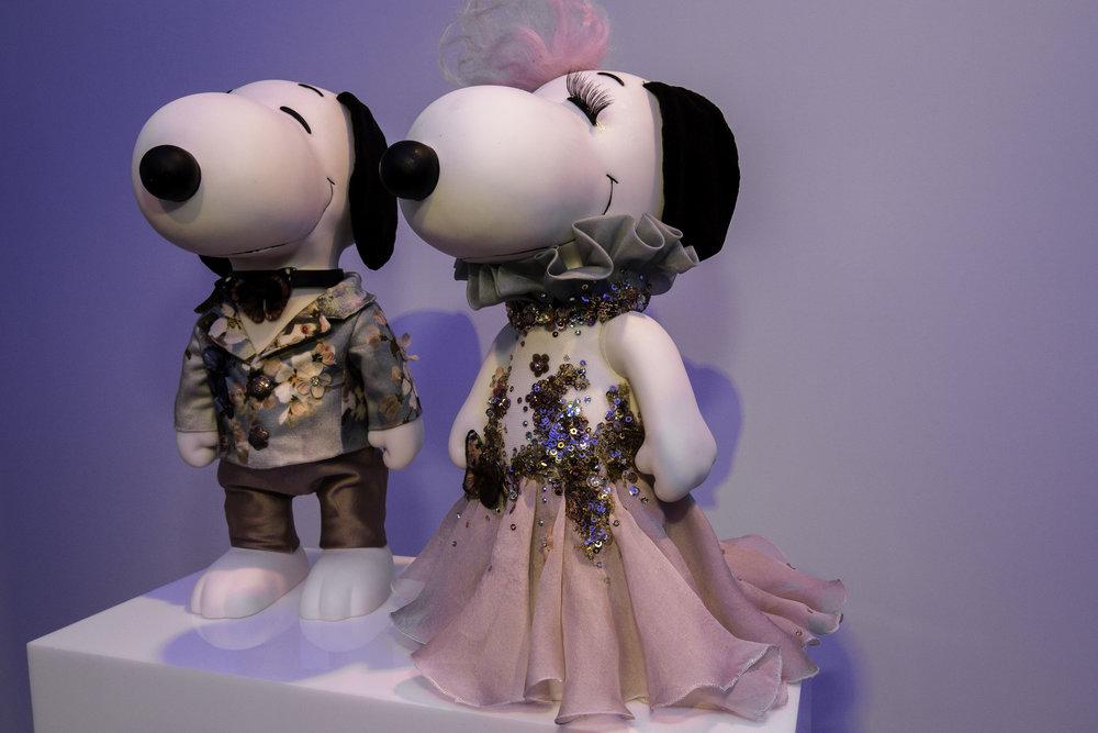 Snoopy & Belle in Fashion - edwin ouodshoorn x snoopy