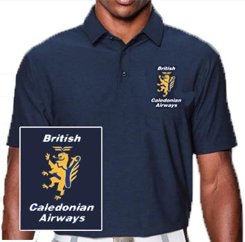 - British Caledonian Polo T-Shirt £21.95