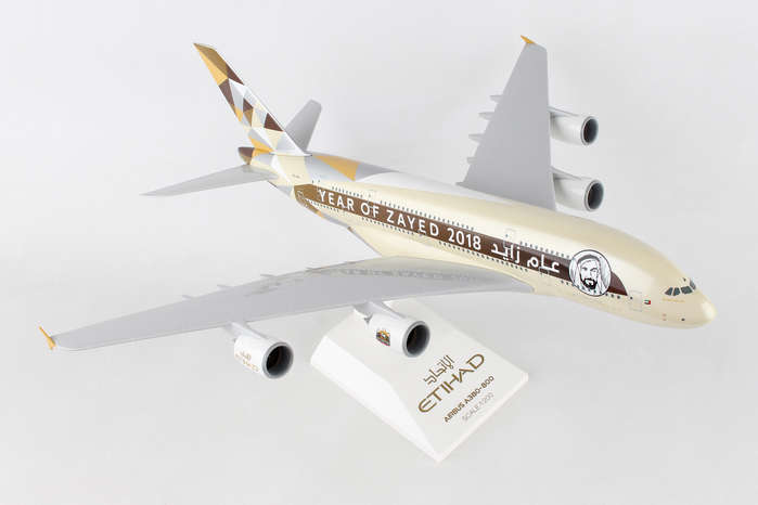 - 1/200 Etihad 'Year of Zayed 2018' A380 £55.00