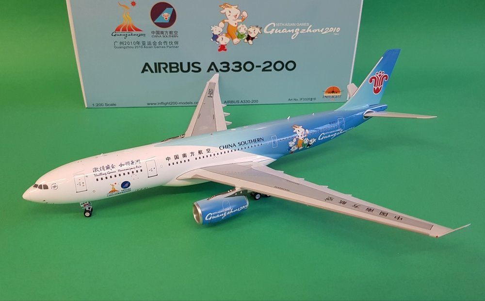 - 1/200 China Southern A330-200 B-6057 £90.00