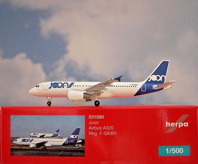 - 1/500 Joon A320 F-GKXN £25.00