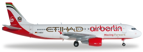 - 1/200 Air Berlin A320 'Moving Forward' D-ABDU£45.00