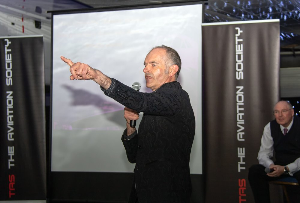 One of our Guests at the event - Rory Mcloughlan, now one of the Senior Managers on the Airports Transformation Project, recalls a fascinating Concorde memory of when he was a Duty Manager (OPS 3) providing a follow me for Concorde on a very foggy day at Manchester .