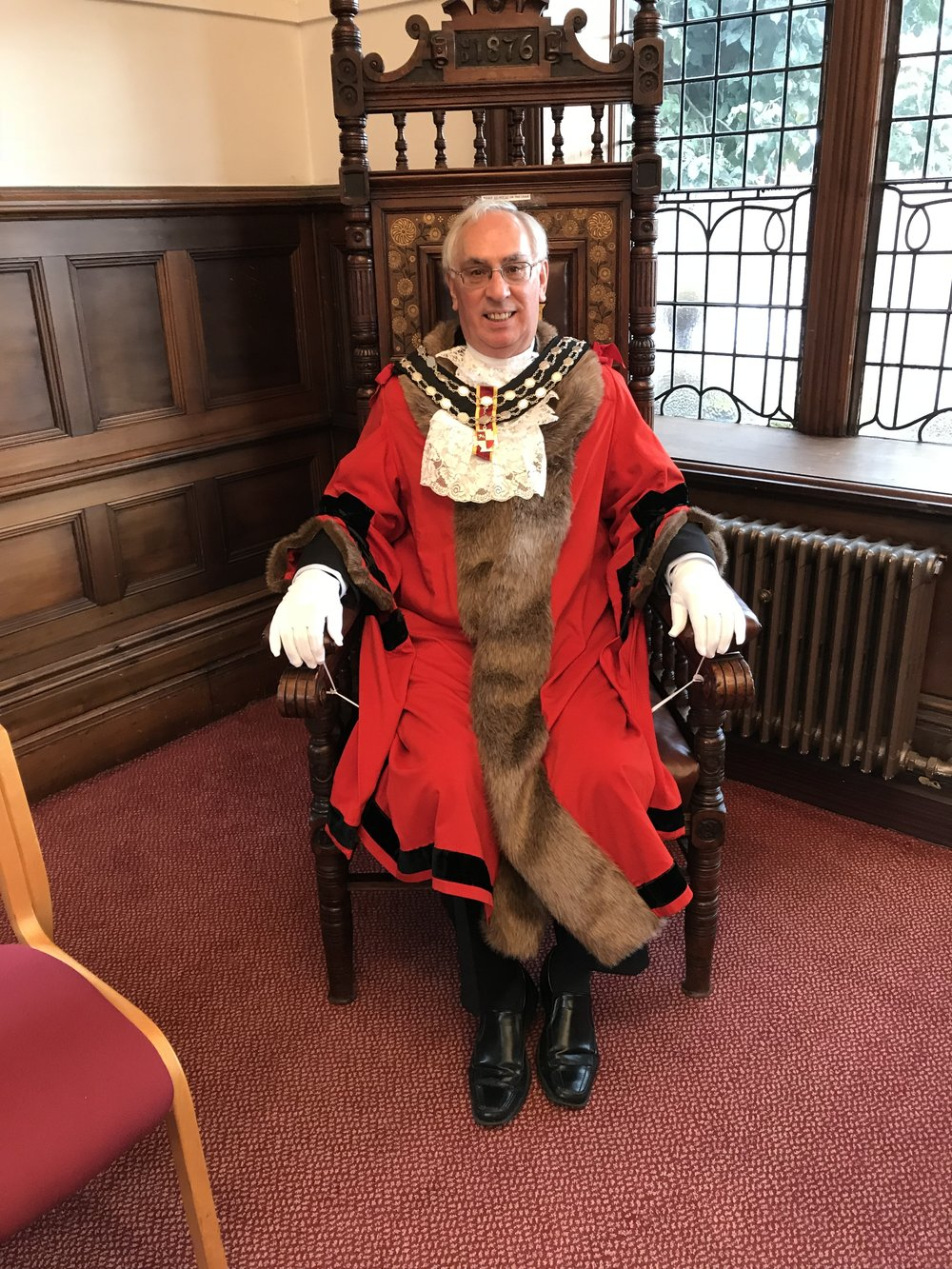 The Mayor of Altrincham (and the RVP) Ken Garrity was in attendance at the event. Ken described a wonderful story of when he flew on Concorde Alpha Charlie in Egypt.
