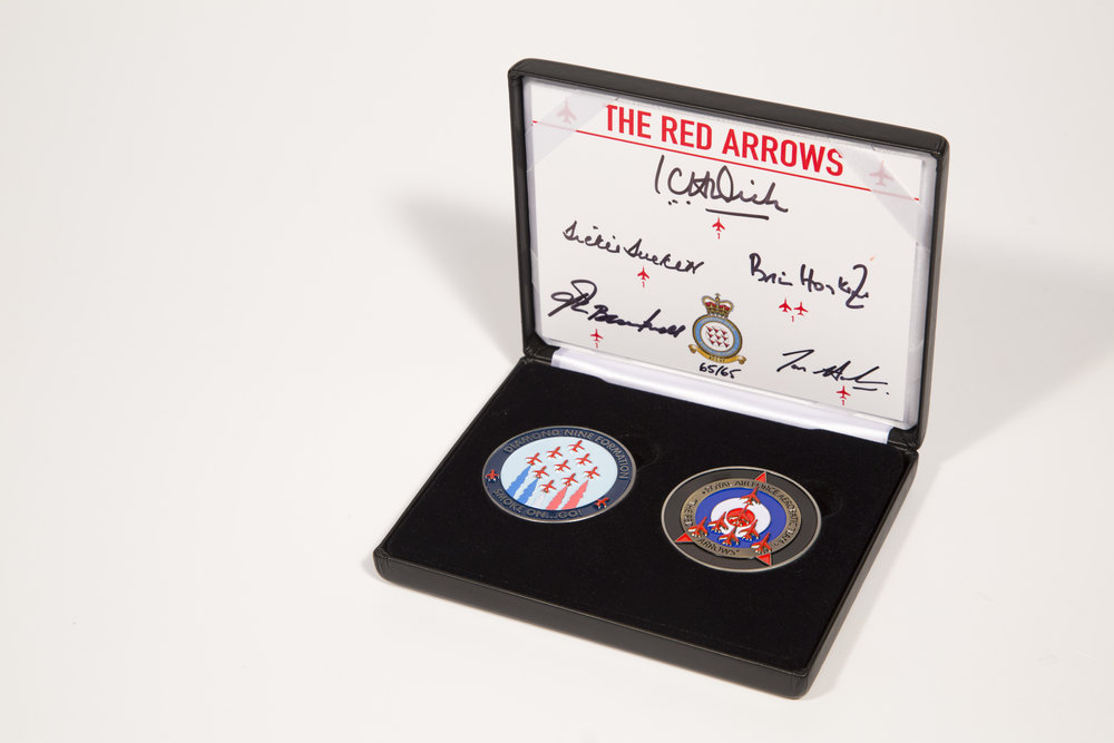 - Commemorative Red Arrows Coin SetSigned by 5 former Team Leaders£149.00