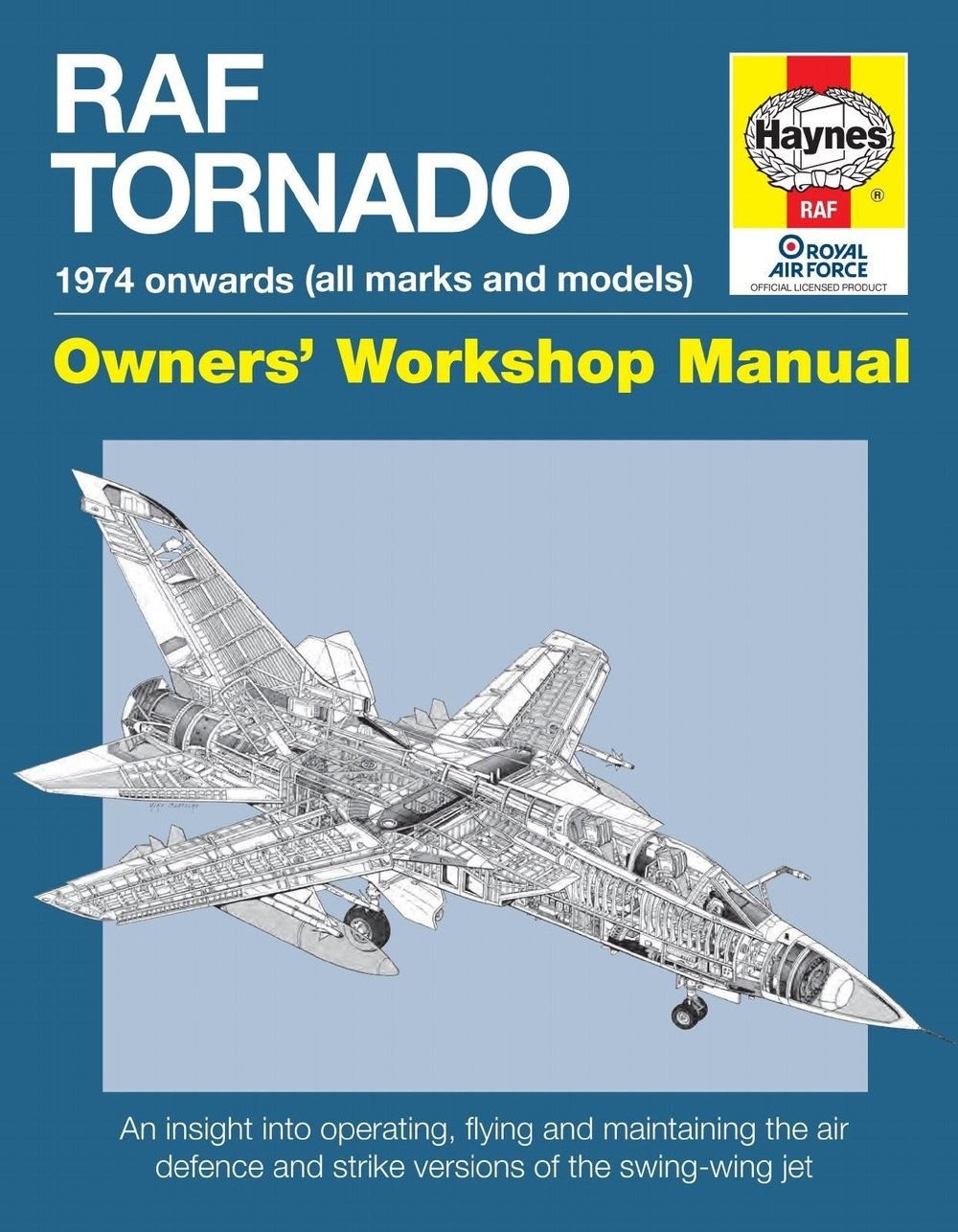 - Haynes RAF Tornado Manual £21.99
