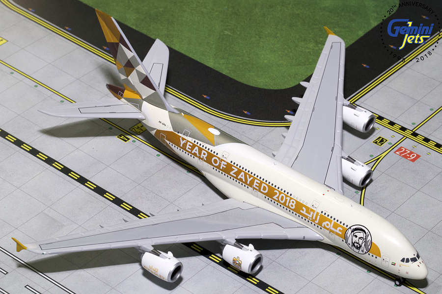 - 1/400 Etihad A380 'Year of Zayed' 2018' A6-APH£55.00