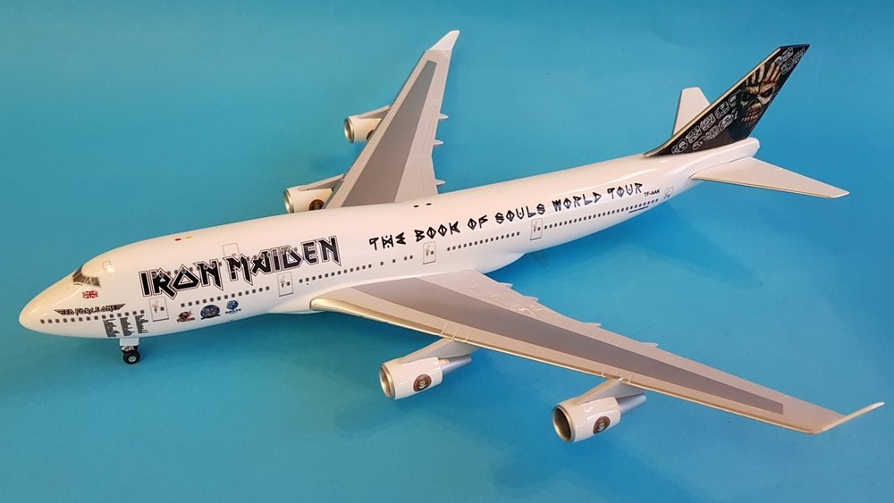 - 1/200 Iron Maiden 'Ed Force One' 747-400TF-AAK£80.00