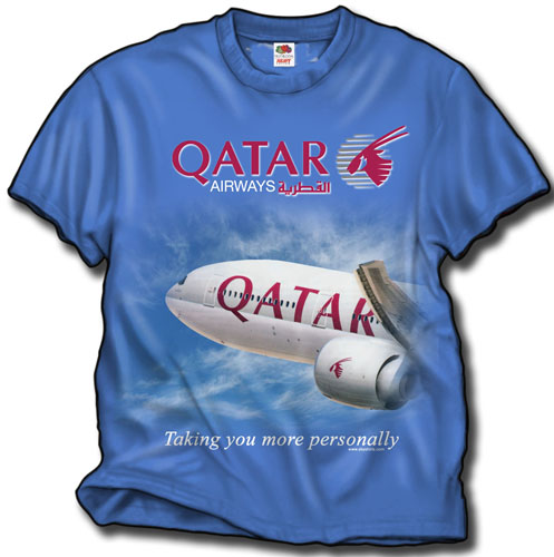 - Qatar Airlines T-Shirt £21.95