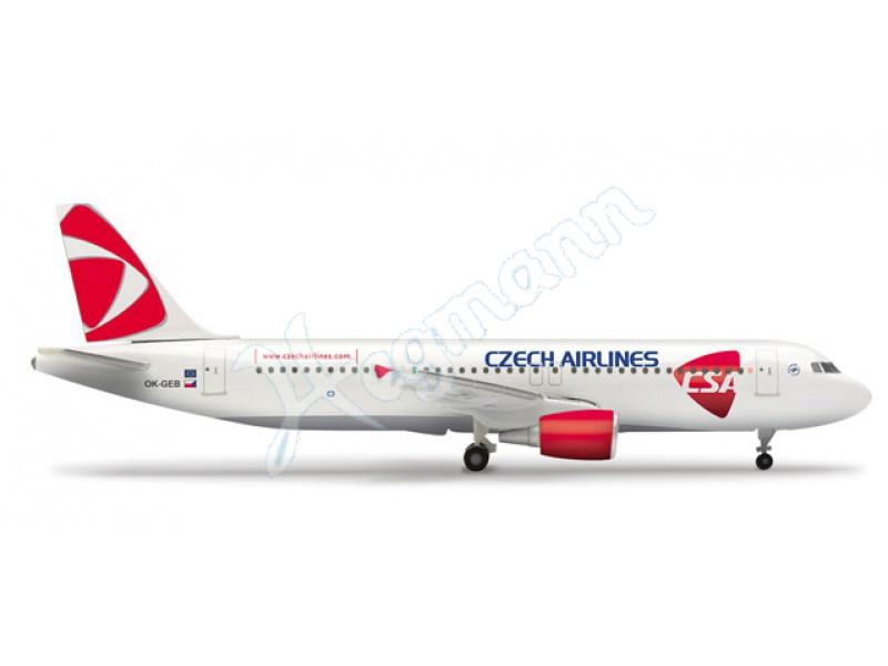 - 1/500 Czech Airlines A320 OK-GEB £22.50
