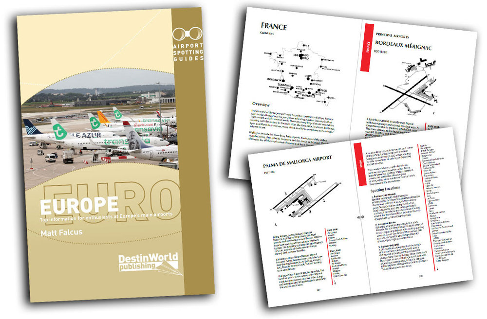 - Coming SoonAirport Spotting Guides Europe 3rd Edition£14.99