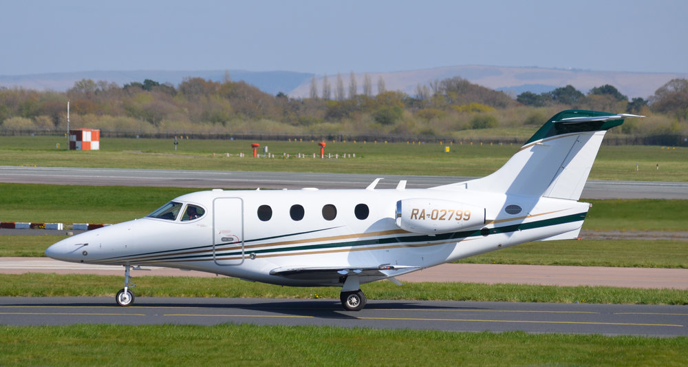 Beechcraft Premier 1 RA-02799 was without doubt one of the star visitors from this weeks football flights. It was captured very nicely from the RVP Mound by Mike Oldham on 10th April.