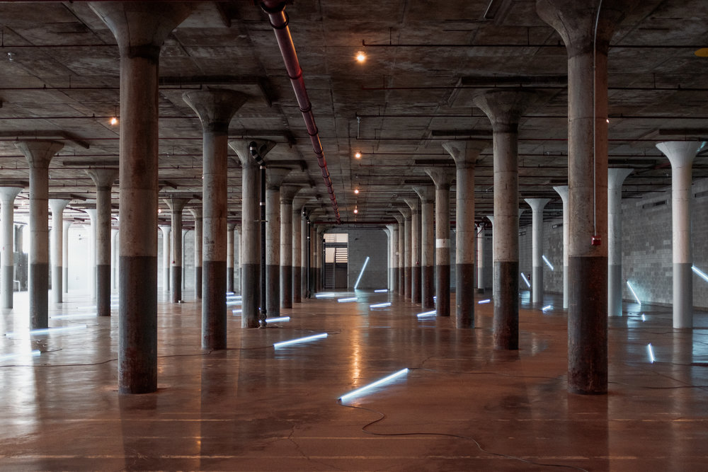 Yoga in a Warehouse…