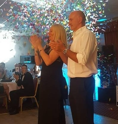 Jo and Simon - CHARity Fundraiser - Thank you Chris for making the Ball a fantastic evening. Loved the lighting and fireworks fantastic. Everyone was up dancing the night away. Can't wait for our next fundraiser with you Joanna and Simon xxx