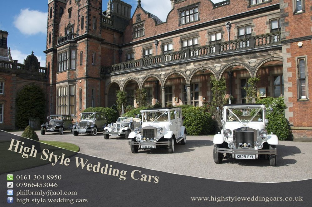 High Style Wedding Cars - Luxury wedding cars and exceptional customer service.Find out more about High Style Wedding Cars here