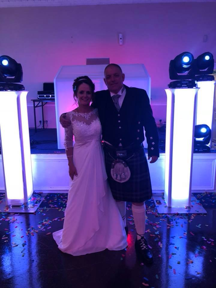 Shirley & Jim - We had our 25 years vow renewal on 19/05/18 & we chose Chris as our DJ, well what a man. He is absolutely amazing & just can't do enough to make your day feel even more special x He's not just a DJ to us now we feel we have made a lifetime friend x Chris, thank you for making me & Jim's day extra special, you really are a lovely lovely kind & caring man & so thoughtful x Thank you Chris xxx