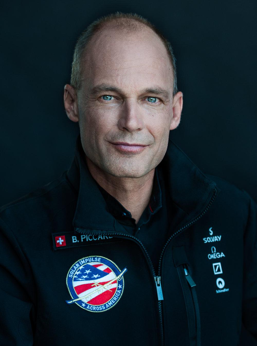 Portrait von Bertrand Piccard, Solar Impulse