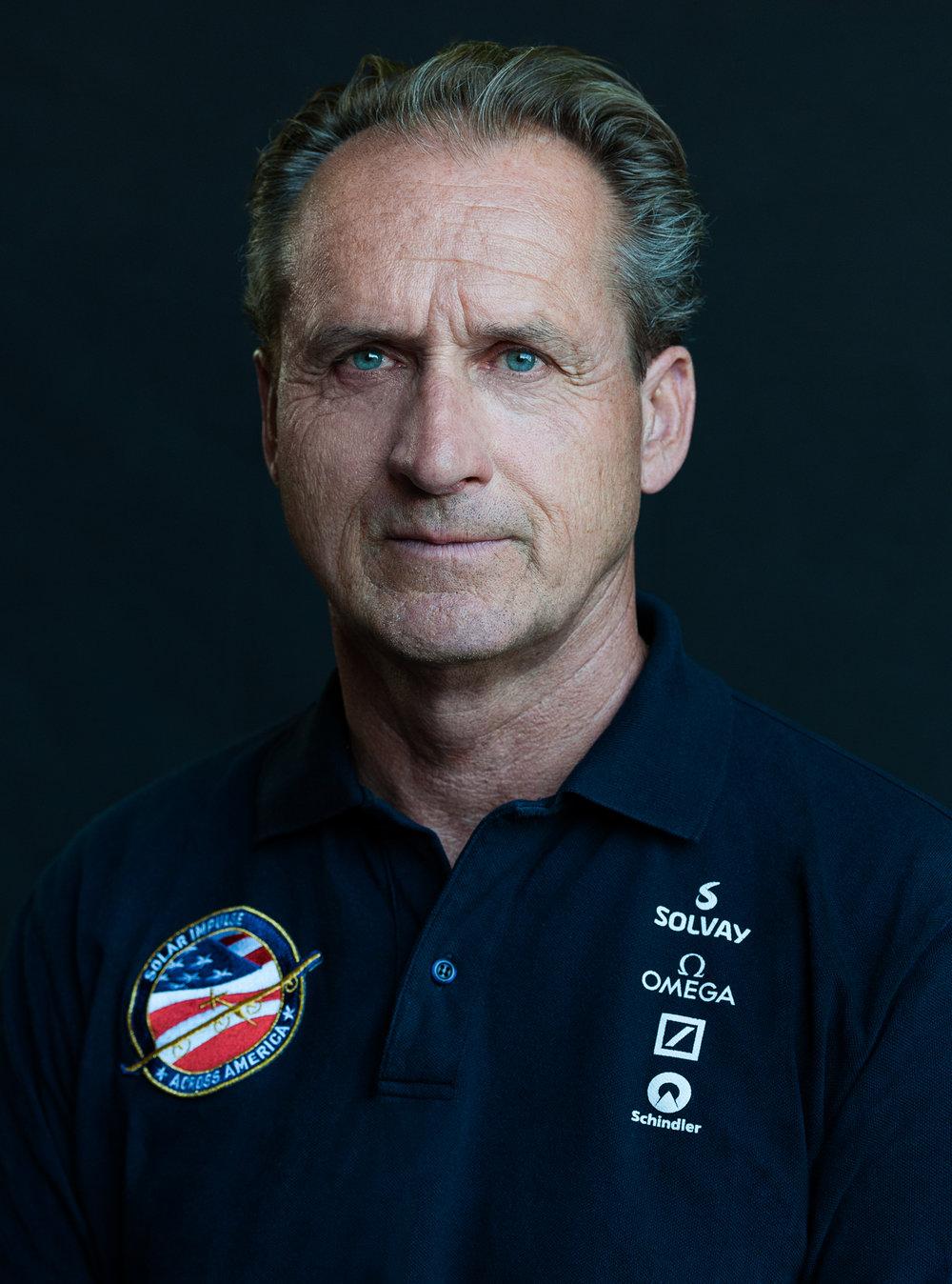 Portrait von André Borschberg, Solar Impulse