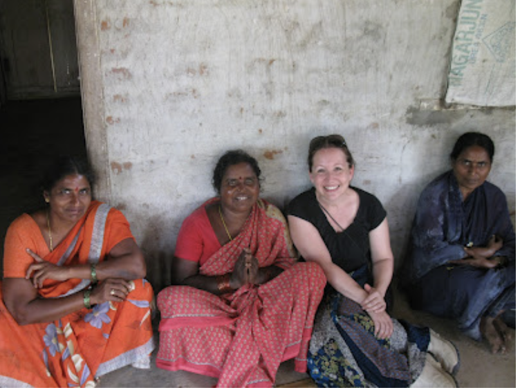 New friends in India who learned the good news of Hope in Jesus as we sat and talked together.