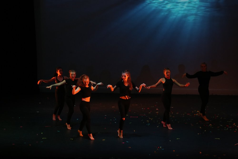 The dancers of Northern Lights Dance Arts.