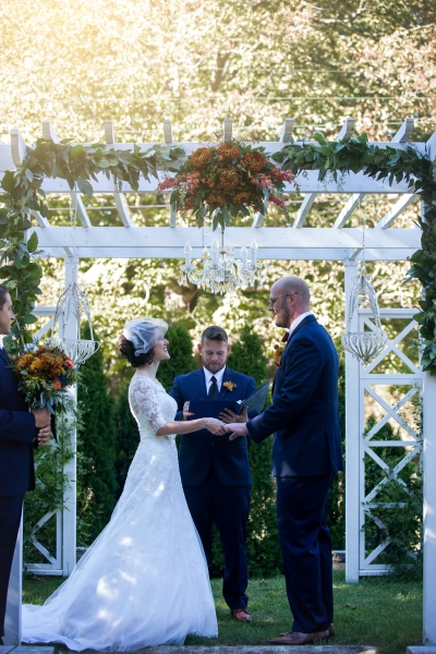 The Pergola is a classic & romantic ceremony site
