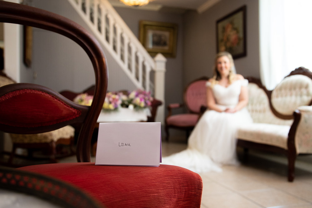 Pre-ceremony gifts from your groom