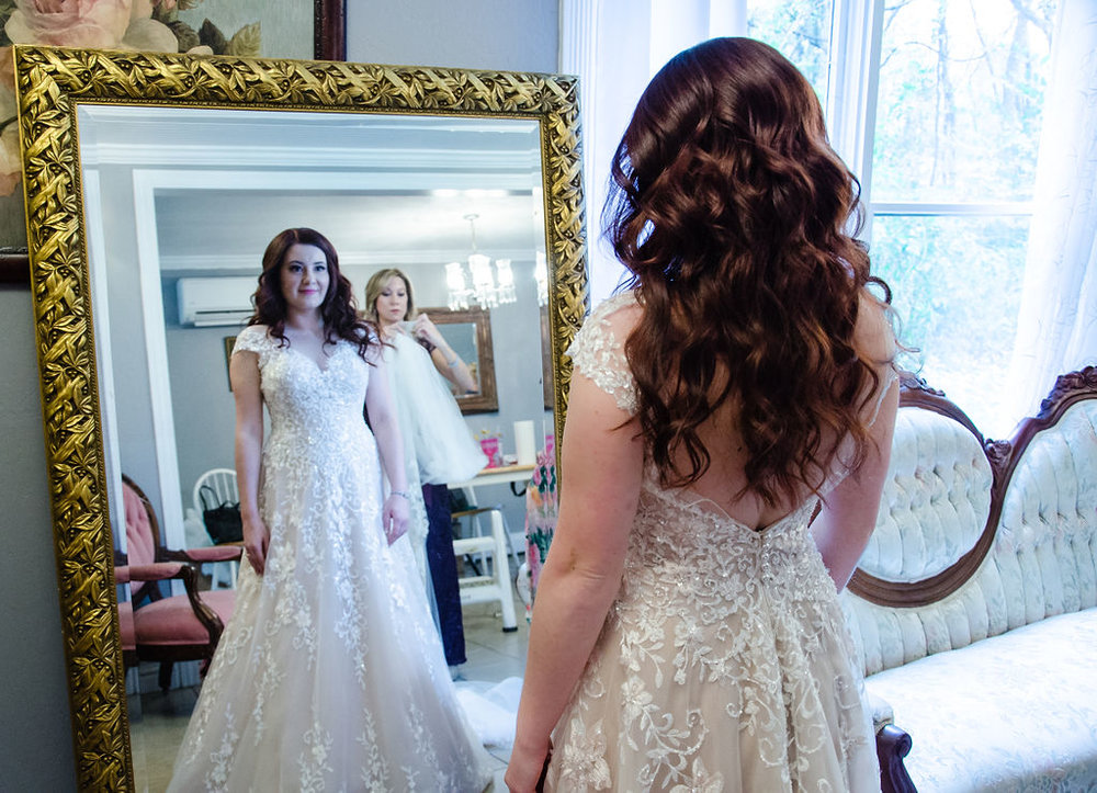 First Look As a Bride