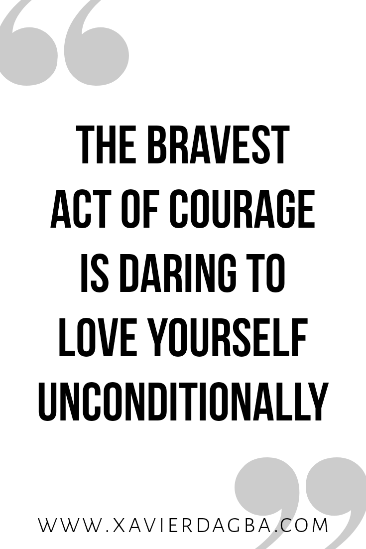 Courage | motivational & inspirational quote