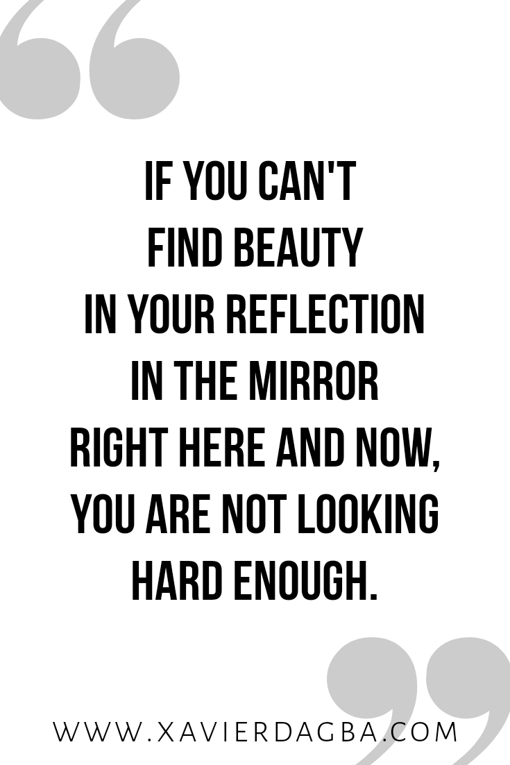 You are more beautiful than you know | motivational & inspirational quote