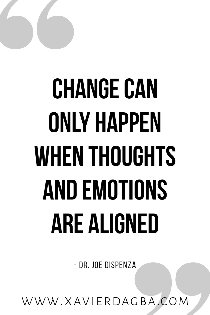 align thoughts and emotions | motivational & inspirational quote