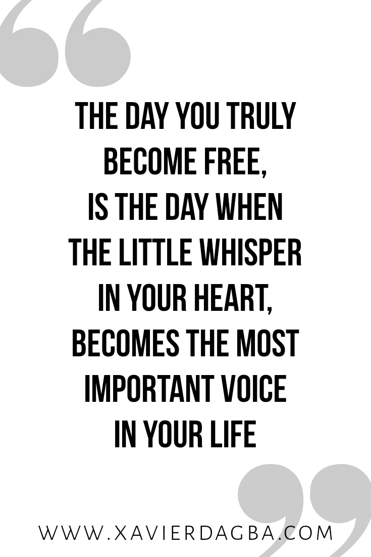Listen to your heart | motivational & inspirational quote