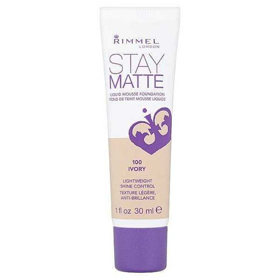 Rimmel London Stay Matte Foundation  -  Best Foundations For Oily Skin, Be Shine Free