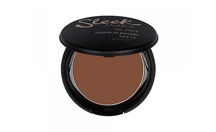 Sleek MakeUp Crème To Powder Foundation  -  Best Foundations For Oily Skin, Be Shine Free