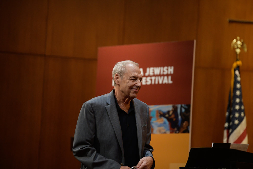 """Through his fascinating history of Jewish involvement in American popular music at Ahavath Achim Synagogue, Ben Sidran explored what is both uniquely Jewish and uniquely American about """"Jewish music"""". In looking at """"Take Me Out To The Ballgame"""", which was composed by Judy Garland's uncle after reading an article about the game in a New York Yiddish newspaper, Sidran, through his examination of the lyrics - """"I don't care if I never get back"""" - showed us how """"baseball"""", in this song - which is really a song looking for community - is actually a metaphor for America and wanting to belong to it."""