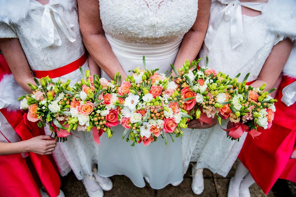 Libby Belles floral wedding bouquets