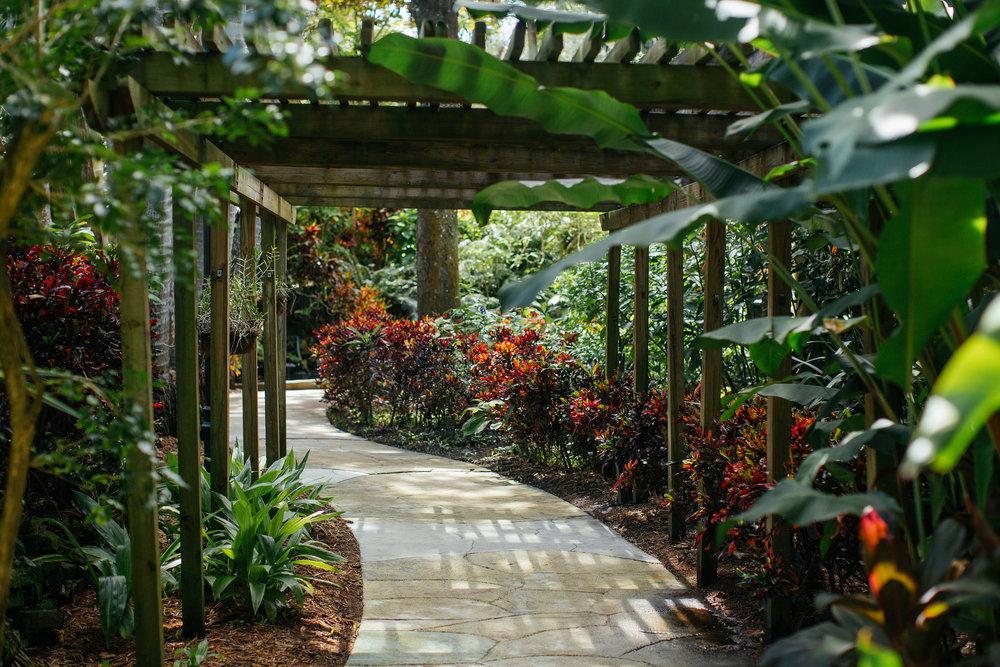 explore sunken gardens