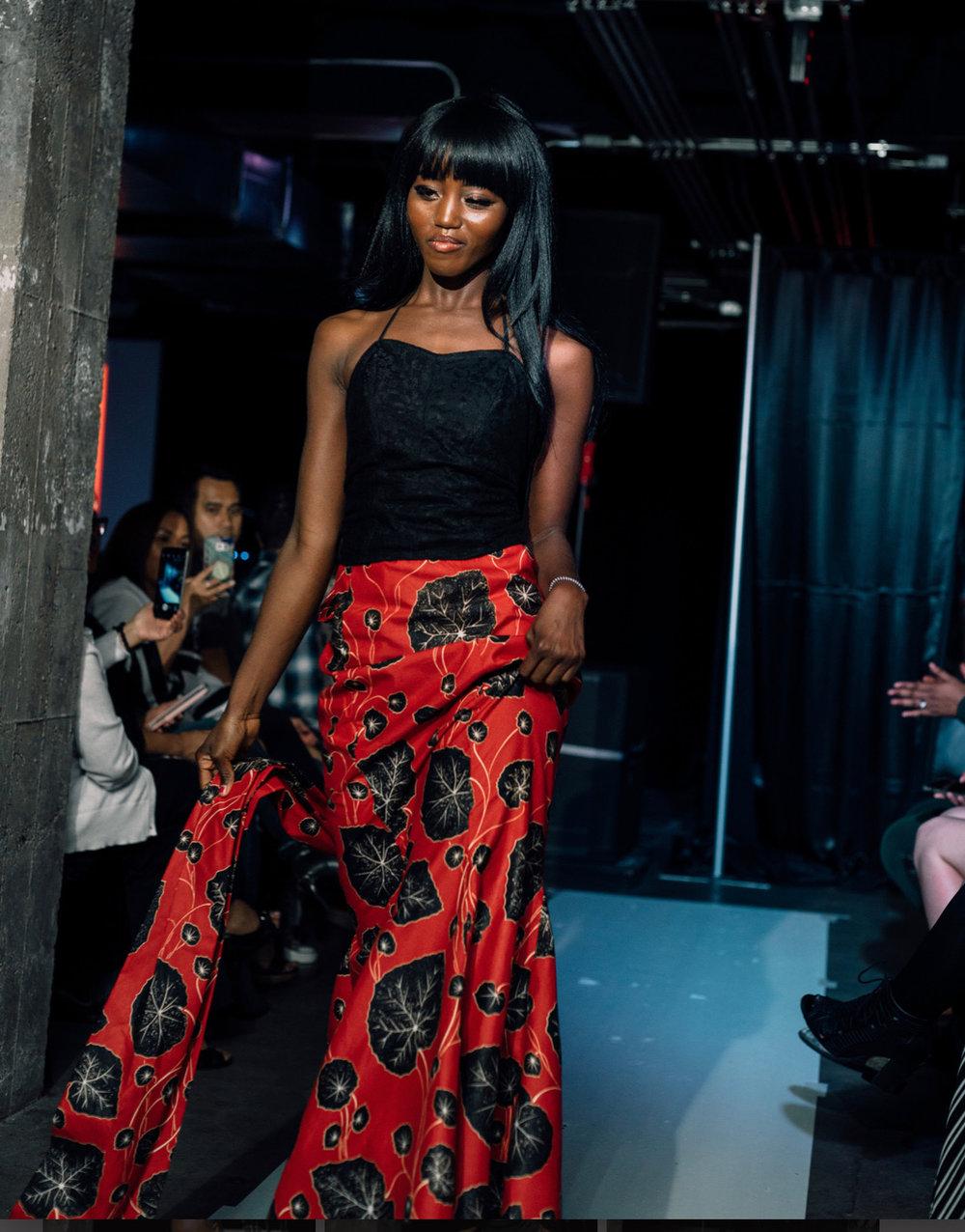 """"""" Royal Mermaid"""" look 4 - Modeled by Liberian Beatrice PhilipsIG : @davilavezele65"""