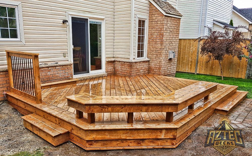 Whitby deck builtin bench pressure treated deckorators by aztec decks.jpg
