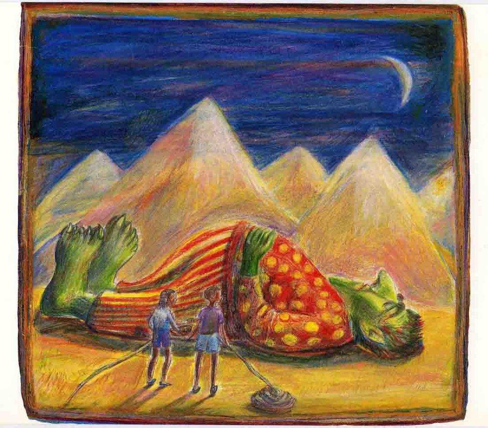 Kroko the Giant, African Folktale (Mantra Lingua) ©irenejuliawise