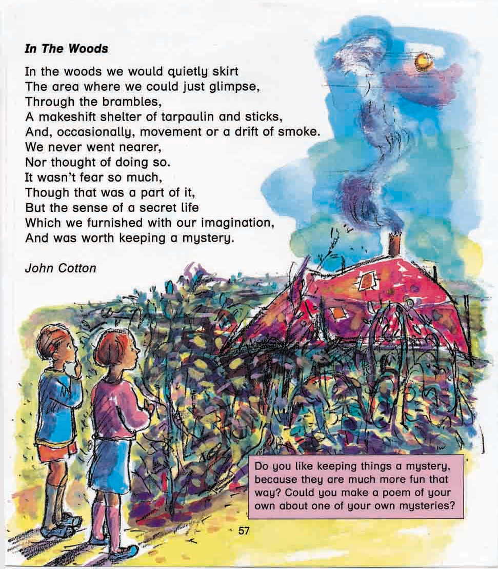 Poetry Anthology: In the Woods, John Cotton ©irenejuliawise