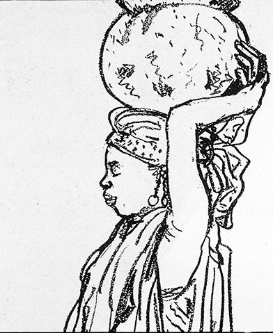 Global Devlopment, Woman Carrying Water ©irenejuliawise
