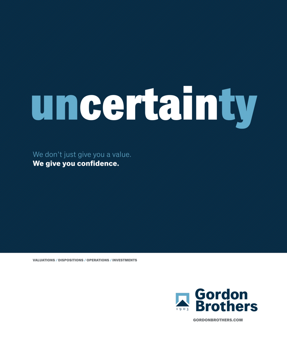 gordon brothers - uncertain ad